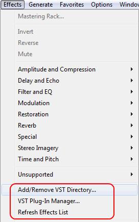 Как установить VST инструменты в Adobe Audition?