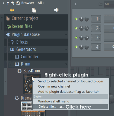 Fl studio Removing plugins.png