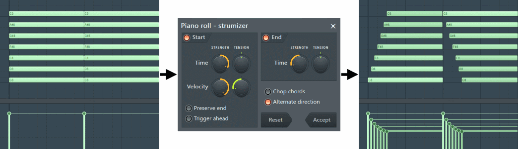 Fl Studio Piano roll Strum Tool.png