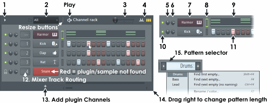 Fl studio Step Sequencer cn.png