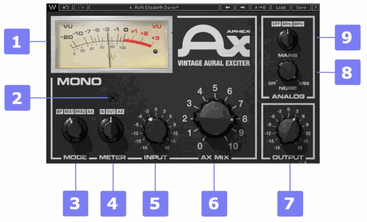 Waves Aphex Vintage Aural Exciter Signal mono.png