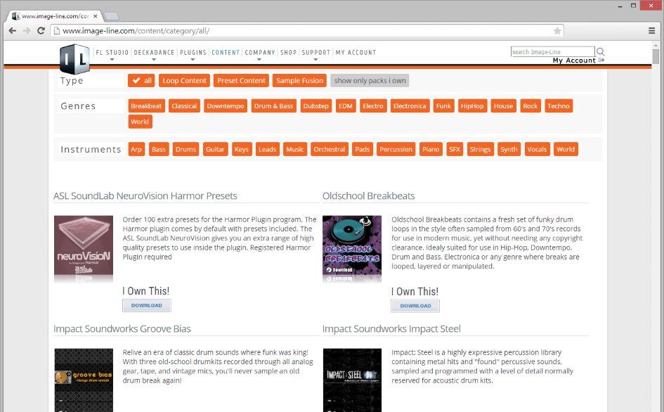 Fl studio content library download windows 7
