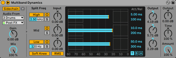 Ableton Live The Multiband Dynamics Device With Sidechain Section.png