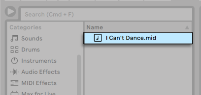 Ableton Live MIDI Files Are Dragged in from Live's Browsers.png