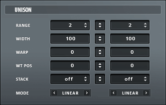 Serum Unison settings.png