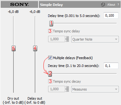 Sound Forge Simple Delay.png
